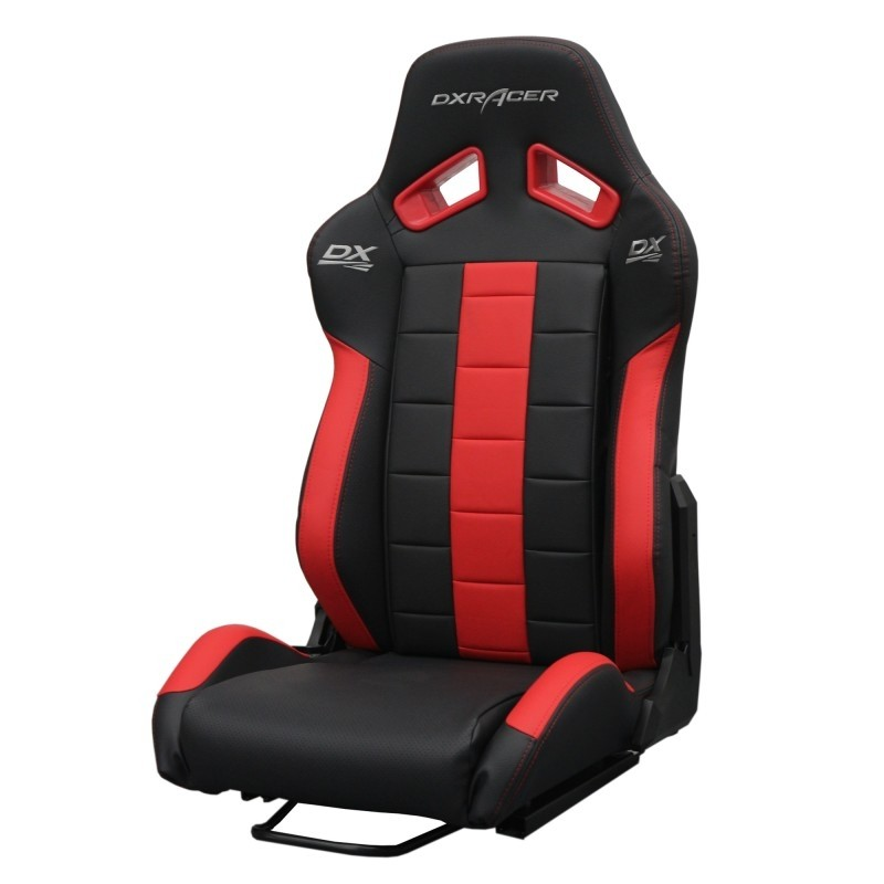 DXRACER semibaquet black & Red - Leather