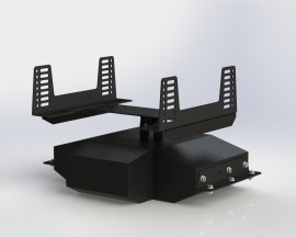 Motion Platform and Seat Brackets  kit for KS90 / KR90 / KR135evo