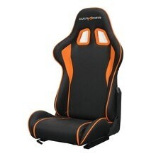 DXRACER Semibaquet black & Orange - Leather
