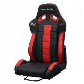 DXRACER semibaquet black & Red - Leather